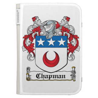 Chapman Family Crest Kindle Cover