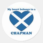 Chapman Round Sticker