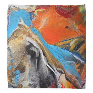 Chapoteo abstracto bandana