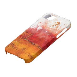 chapoteo abstracto colorido del compañero del caso iPhone 5 Case-Mate cárcasa