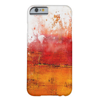 chapoteo abstracto colorido del iPhone 6 Funda De iPhone 6 Slim