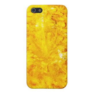 Chapoteo amarillo iPhone 5 coberturas
