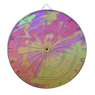 Chapoteo artsy colorido tabla dardos