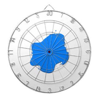 Chapoteo azul tabla dardos