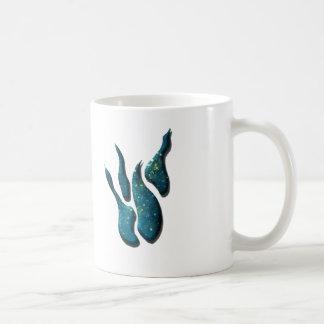 Chapoteo azul taza de café