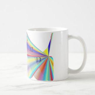 Chapoteo de 111213 arco iris taza de café de 11 on