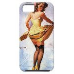 Chapoteo de Gil Elvgren del vintage en el chica mo iPhone 5 Case-Mate Protector