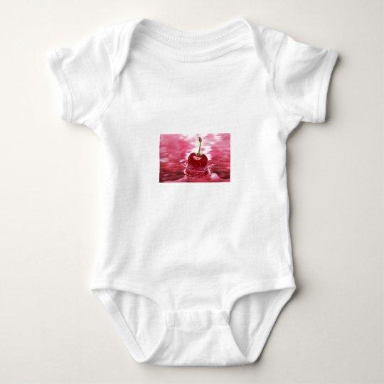 Chapoteo de la cereza body para bebé