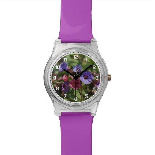 Chapoteo de la frambuesa relojes
