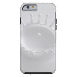 Chapoteo de la leche funda resistente iPhone 6
