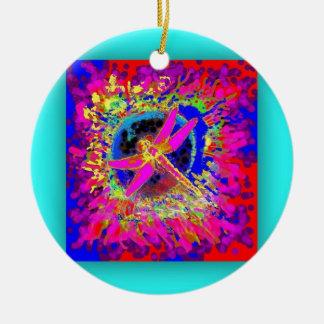 Chapoteo de la libélula por Sharles Ornamento De Reyes Magos