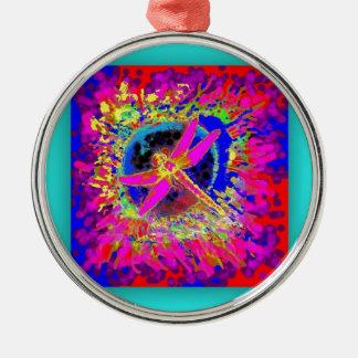 Chapoteo de la libélula por Sharles Ornamentos De Navidad
