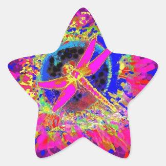 Chapoteo de la libélula por Sharles Colcomanias Forma De Estrellaes