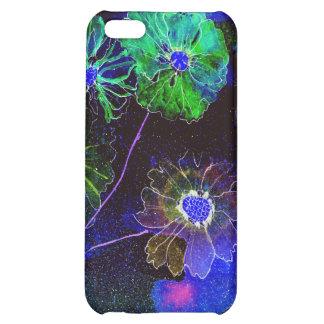 chapoteo de la MOD del iphone 4 de flores