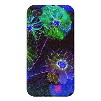 chapoteo de la MOD del iphone 4 de flores iPhone 4 Coberturas
