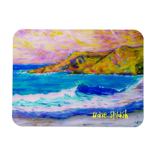 chapoteo de la onda de la playa de Laguna Iman