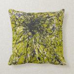 Chapoteo de la verde lima almohadas