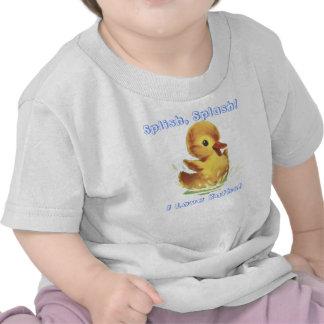 Chapoteo de Splish… Amo la camisa de los baños