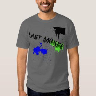 Chapoteo de última hora camisas