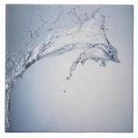 Chapoteo del agua azulejos