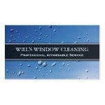Chapoteo del agua, limpiador de ventana azul - tar