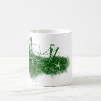 Chapoteo del agua taza de café