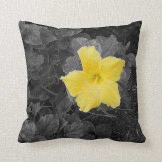Chapoteo del amarillo almohadas