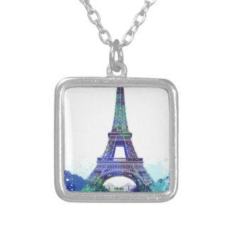 Chapoteo del color de Eiffel del viaje del La Joyería