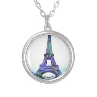 Chapoteo del color de Eiffel del viaje del La Pendientes