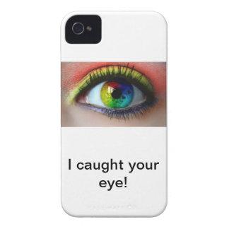 Chapoteo del color de Iphone 4 Case-Mate iPhone 4 Fundas