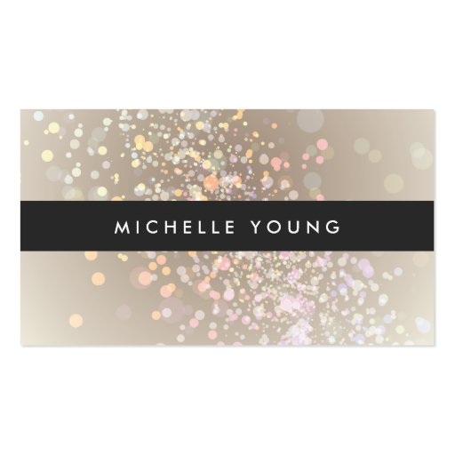 Chapoteo del color en de color topo y negro para plantillas de tarjetas de visita