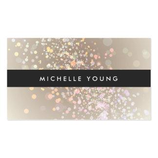 Chapoteo del color en de color topo y negro para tarjetas de visita