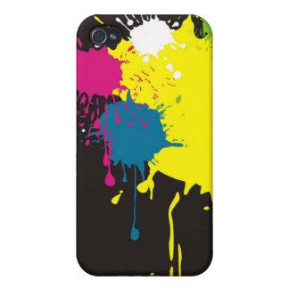 chapoteo del color iPhone 4 carcasas