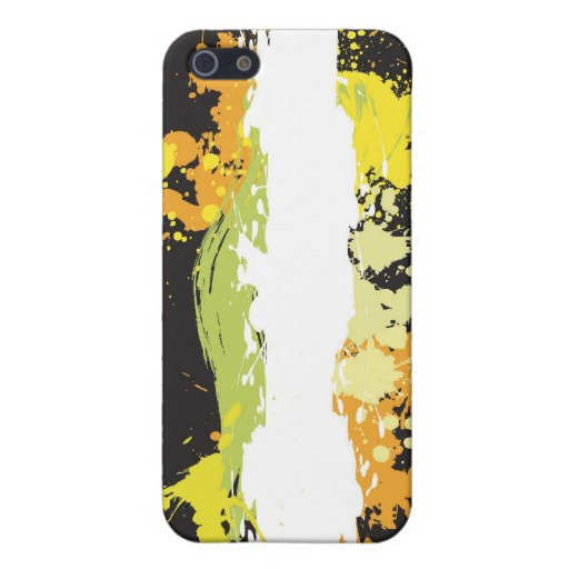 Chapoteo del color iPhone 5 protector