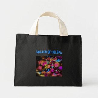 Chapoteo del color para los niños bolsas lienzo