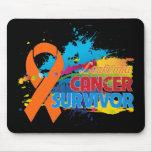 Chapoteo del color - superviviente de la leucemia tapete de ratones
