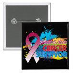 Chapoteo del color - superviviente del cáncer de c pins