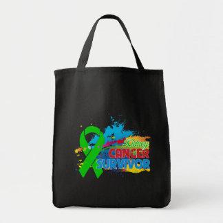 Chapoteo del color - superviviente del cáncer del  bolsa