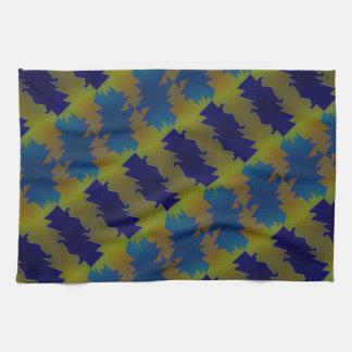Chapoteo del color toallas de mano