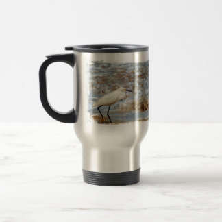 Chapoteo del Egret y de la onda Taza Térmica