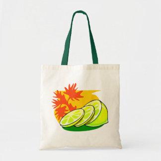 Chapoteo del limón bolsa tela barata