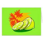 Chapoteo del limón felicitacion