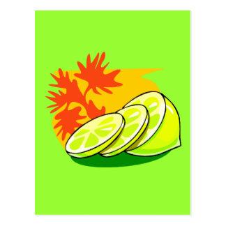 Chapoteo del limón postal