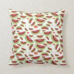 Chapoteo del melón almohadas