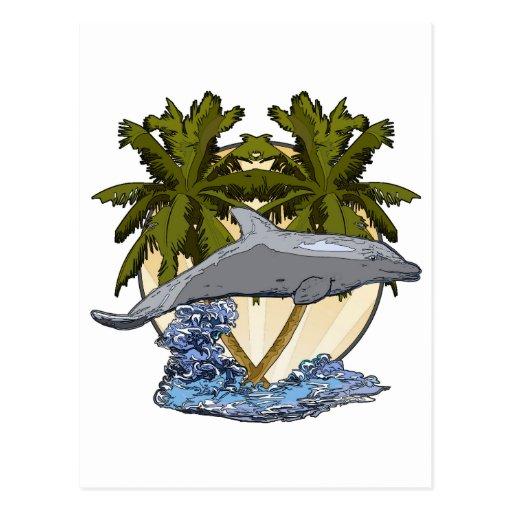 Chapoteo del océano postales