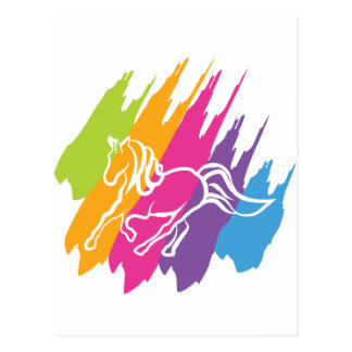 Chapoteo del unicornio postal