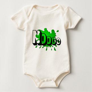 Chapoteo del verde de Noooo Body Para Bebé