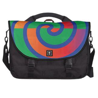 Chapoteo enrrollado del color del modelo de los re bolsas para portátil