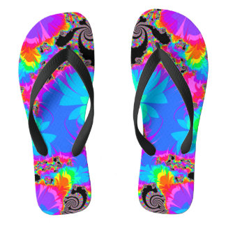 Chapoteo espiral del arco iris del fractal
