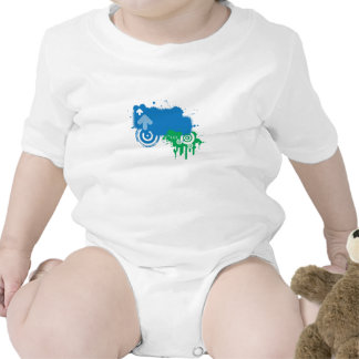 chapoteo traje de bebé